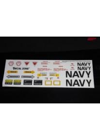 Kleberset Scale Jet US-Navy Nr.09_11952