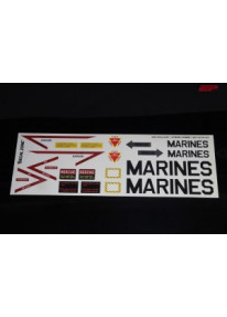 Kleberset Scale Jet US-Marines Nr.10_11953
