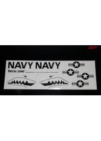 Kleberset Scale U.S. Navy Stars & Bars Nr.39_12102