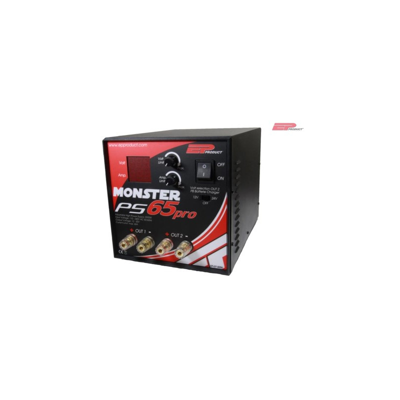 EP Monster PS65 Pro Netzteil 12-30V, 65A 2000W_12333