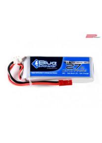 EP BluePower - 2S 7.4V 900mAh 30C 27A (JST)_12354