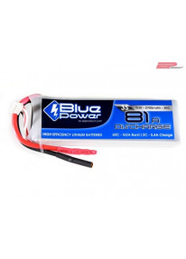 EP BluePower - 3S 11.1V 2700mAh 30C 81A (4mm)_12363