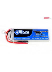EP BluePower - 4S 14.8V 2700mAh 30C 81A (4mm)_12365