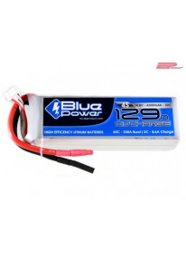 EP BluePower - 4S 14.8V 4300mAh 30C 129A (4mm)_12367