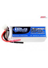 EP BluePower - 6S 22.2V 5000mAh 30C 150A (4mm)_12369