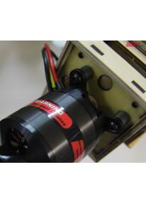 EP Alu-Motorhalter-Distanzhülsen - 10mm (9020)_12947