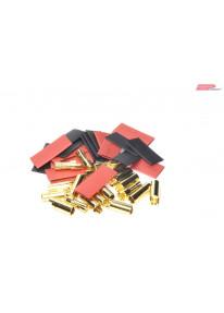 EP Male / Female plug gold...