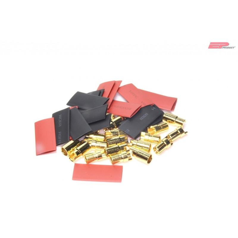 EP 6mm Gold Stecker / Buchse_13155