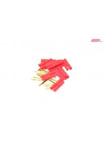 EP 2mm Gold Stecker / Buchse mit Gehäuse_13156