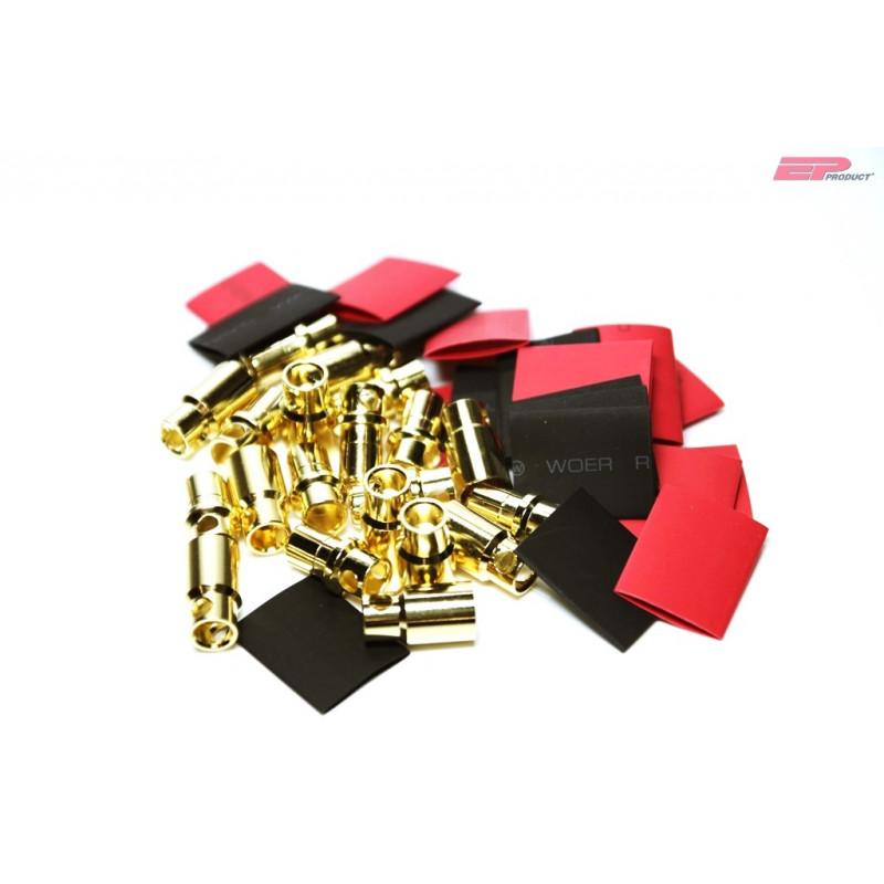 EP 8mm Gold Stecker / Buchse_13281