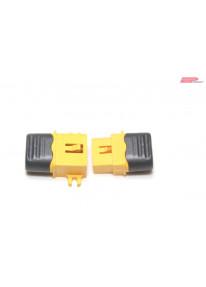 EP XT60-C Stecker / Buchse mit Kabelschutz_14202