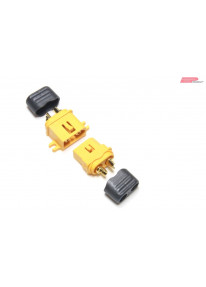EP XT60-C Stecker / Buchse mit Kabelschutz 5 Paar_14204