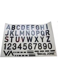 Letters & symbols Sticker...