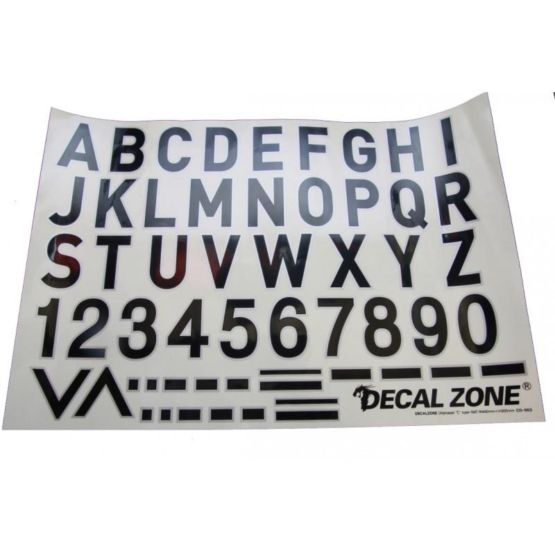 Kleberset Buchstaben & Symbole Nr.12_14688