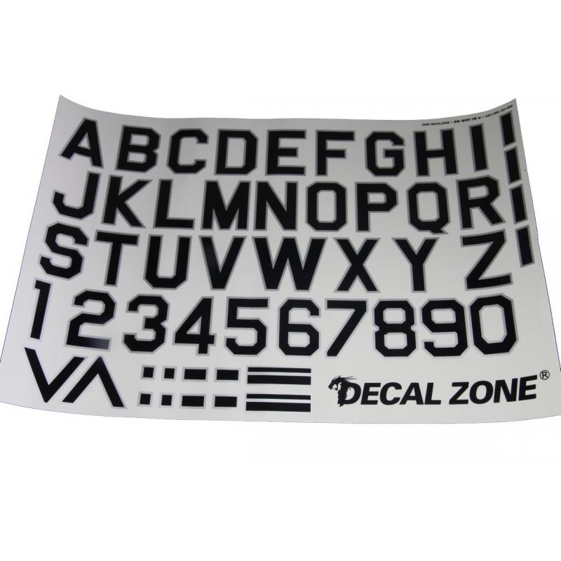 Kleberset Buchstaben & Symbole Nr.13_14689