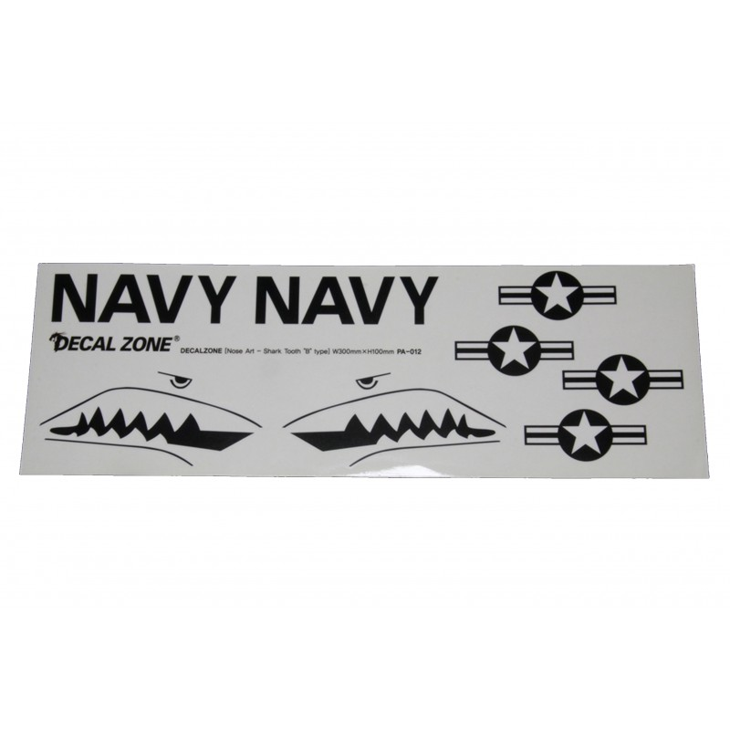 Kleberset Scale U.S. Navy Stars & Bars Nr.39_14716