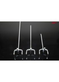 Einfachhaken für Lochwände Länge 10cm - LA25_14956