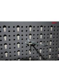 Einfachhaken für Lochwände Länge 10cm - LA25_14958