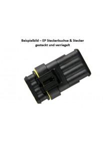 EP SS-Steckergehäuse - 3fach - Waterproof_15474